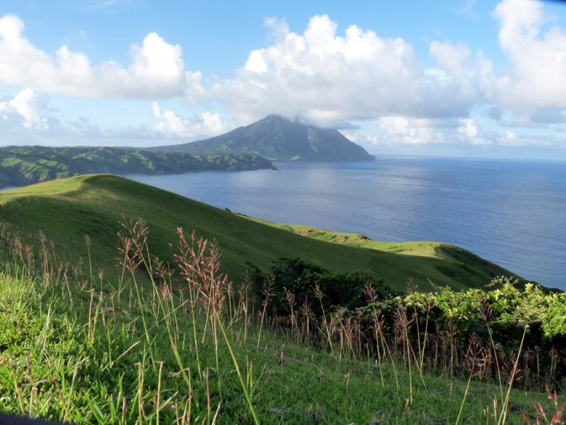Batanes Philippines hills overlooking ocean