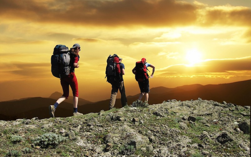 Learn by copying experienced hikers