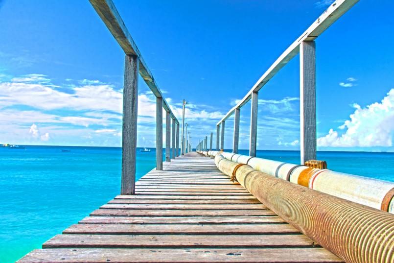 Barbados fuel pipe line