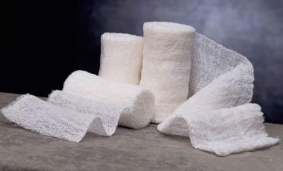 gauze bandage rolls