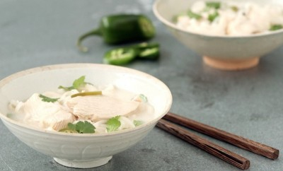 coconut-lime chicken noodle soup recipe