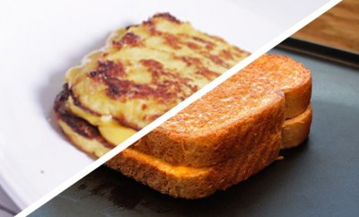 grilled cheese cauliflower grilled cheese