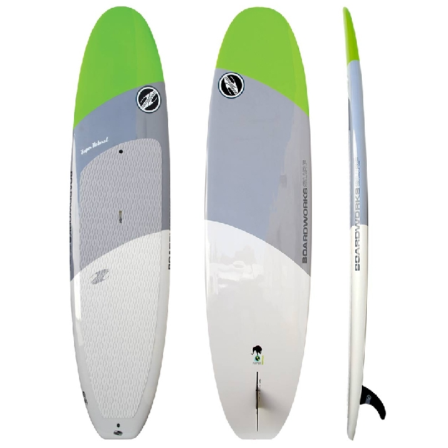planning hull paddle board
