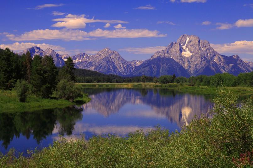 Jackson Hole Wyoming Grand Tetons