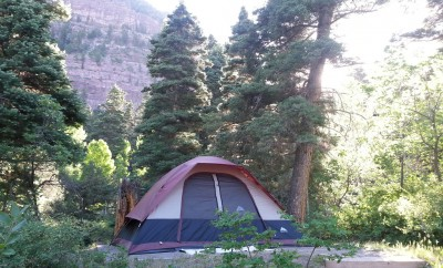 camping backcountry