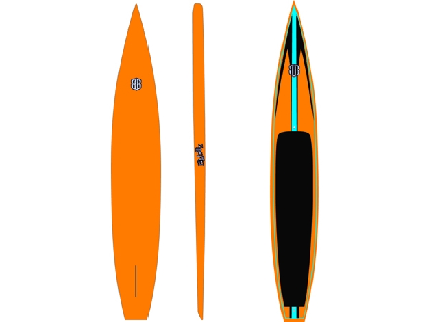 displacement hull paddle board