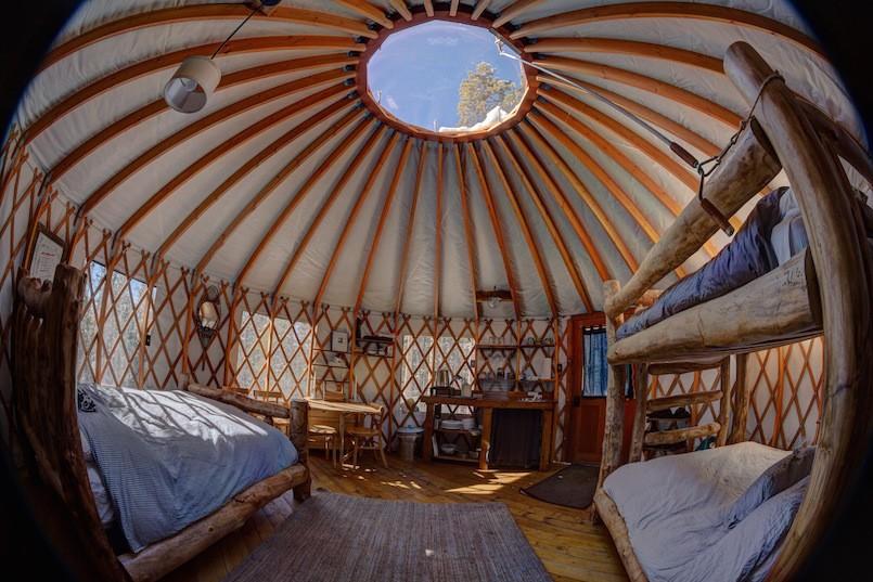 Jackson Hole Wyoming backcountry yurts