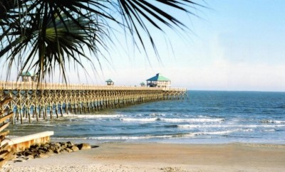 Charleston South Carolina beach pier