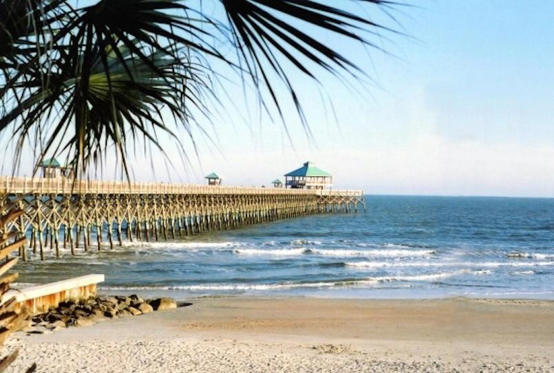 Charleston South Carolina beach pier