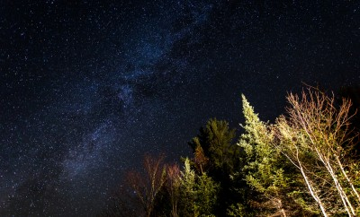 Milky Way, from New Hampshire's White Mountains