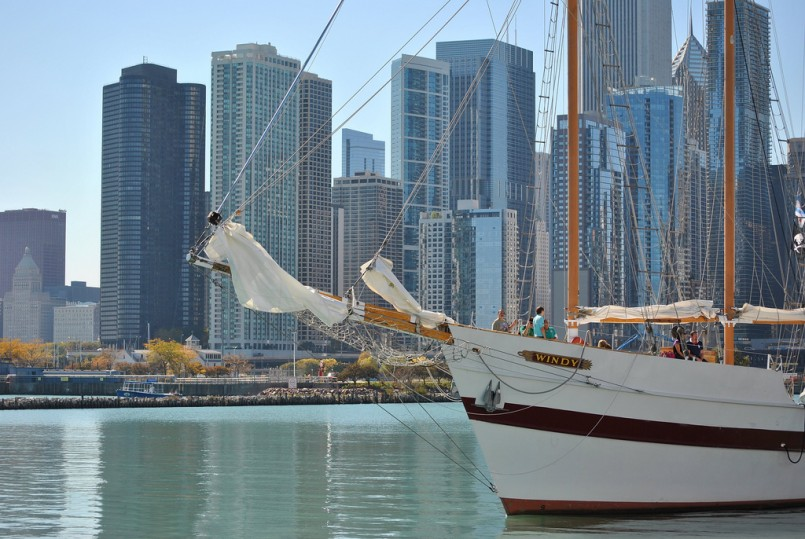 Views from Navy Pier in Chicago