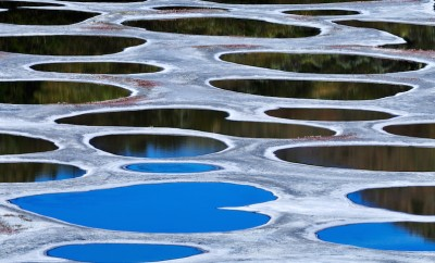 Spotted Lake, Klikuk, in Osoyoos area