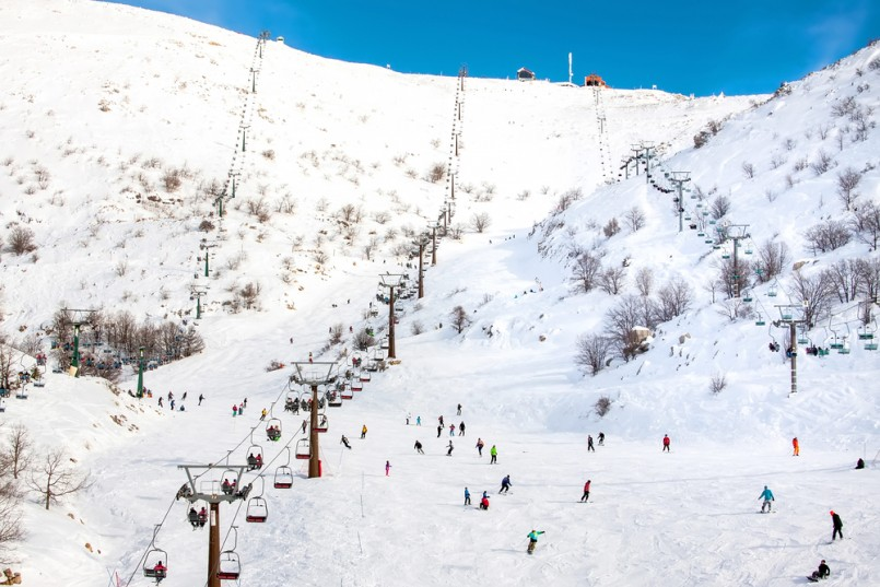 Mount Hermon, the ski resort