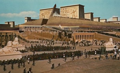 1920s film set of the ten commandments