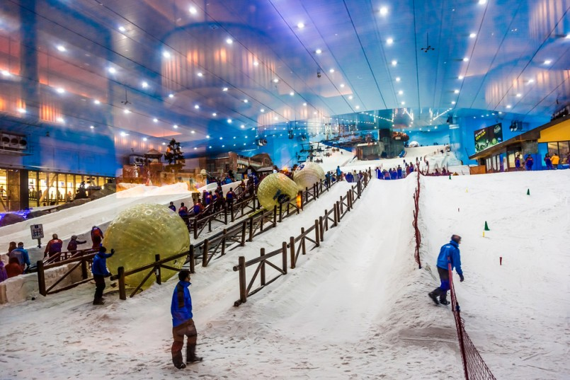 ski Dubai indoor resort