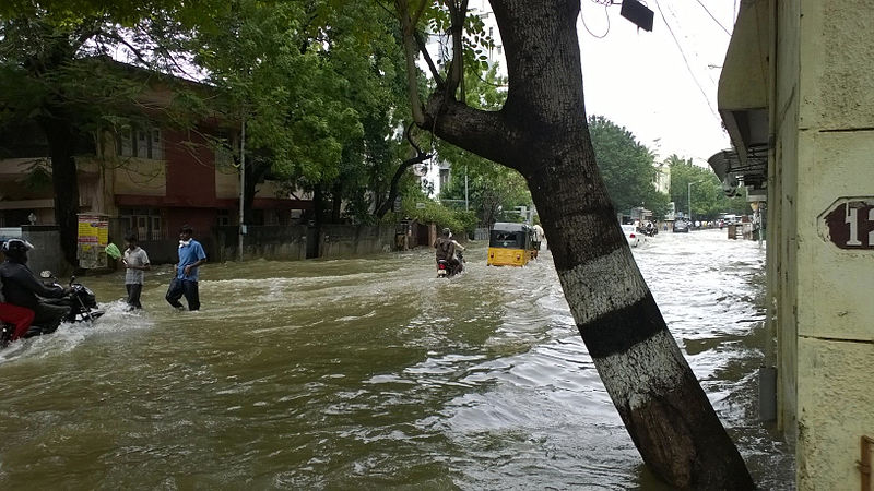 Chennai flood December 2015
