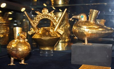 Inca gold treasure