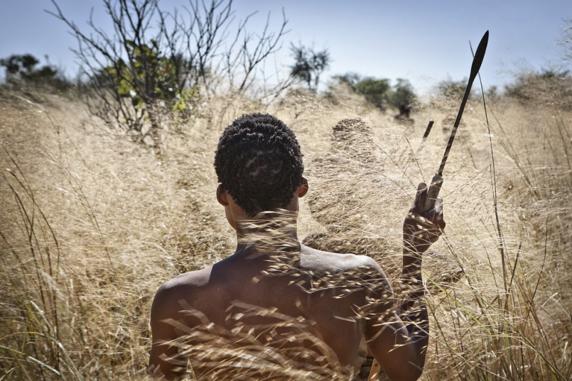 San Bushman going hunting
