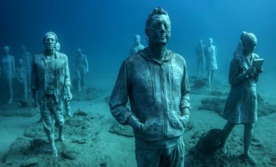 Museo Atlantico underwater museum Europe
