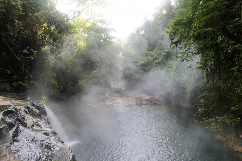 Boiling River Falls