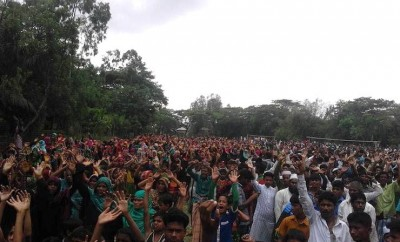 Bangladesh coal plant protests