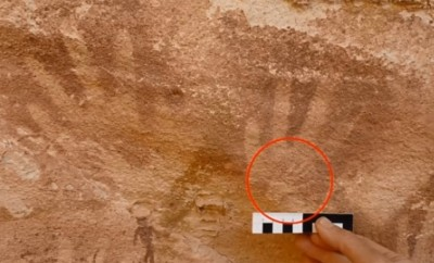 cave of beasts sahara handprints