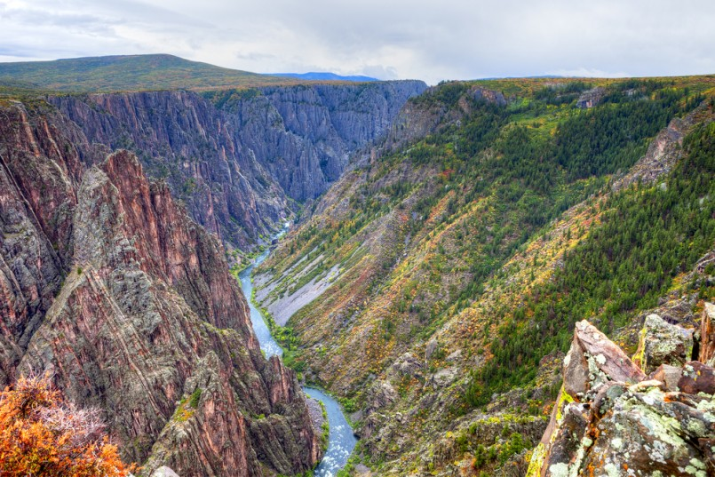 Black Canyon of the Gunnison National Park, in fall