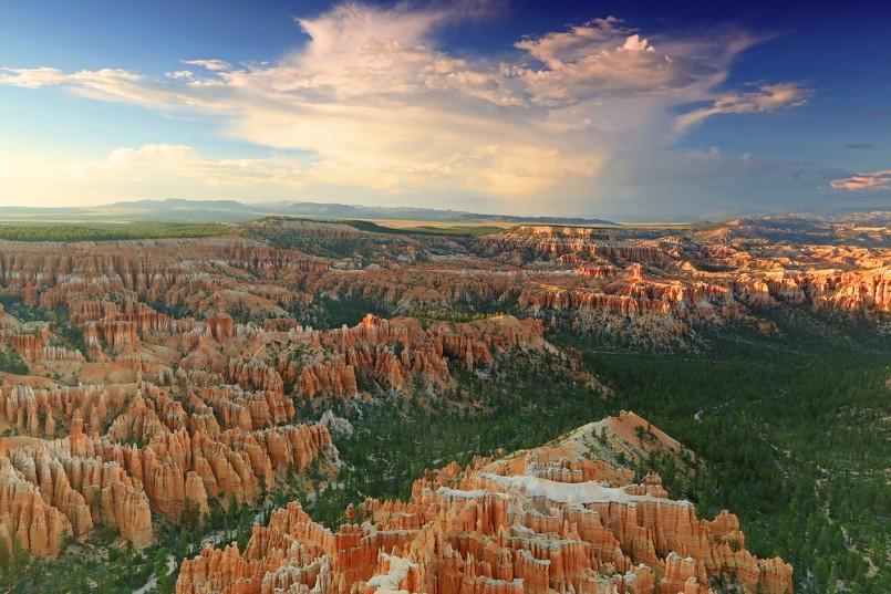 Summer landscape in Bryce Canyon, Utah, USA