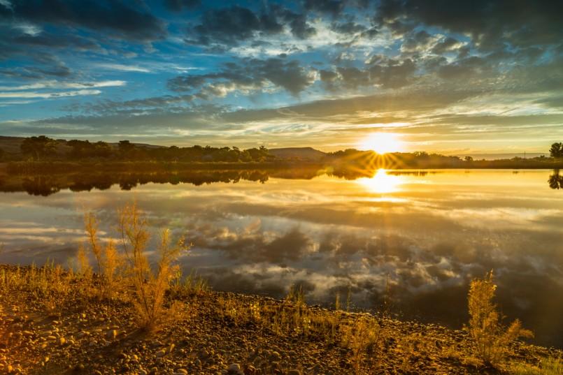 Lake at James M. Robb - Colorado River State Park
