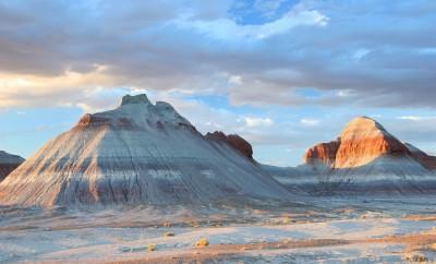 Petrified Forest Tepee Rock Formations - Arizona