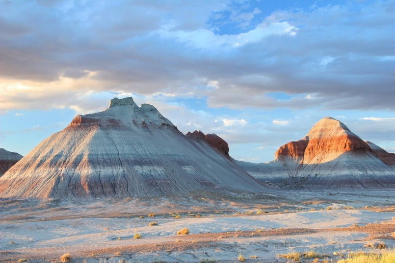 Petrified Forest Tepee Rock Formations - Arizona