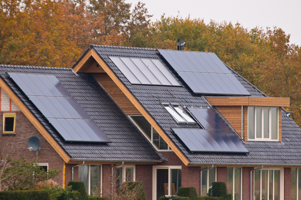 Think solar panels are ugly now they 39 ll change colors for Solar powered home designs