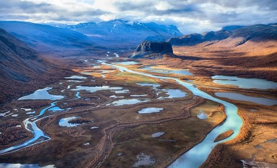 rapadalen in sweden - Sarek national park