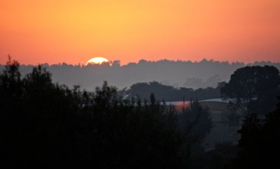 johannesburg sunrise in the worlds greenest city