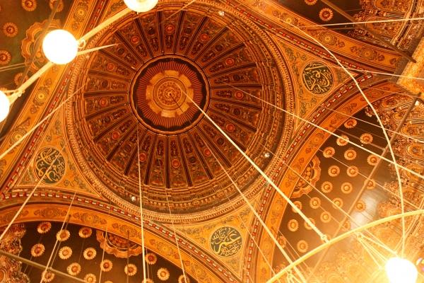 cairo building orante ceiling
