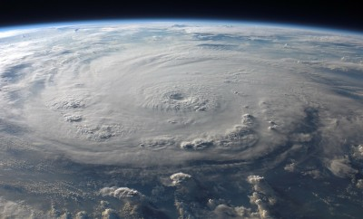 hurricane felix satellite view 2007