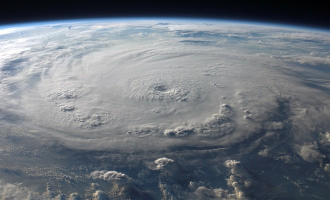 hurricane felix satellite view 2007